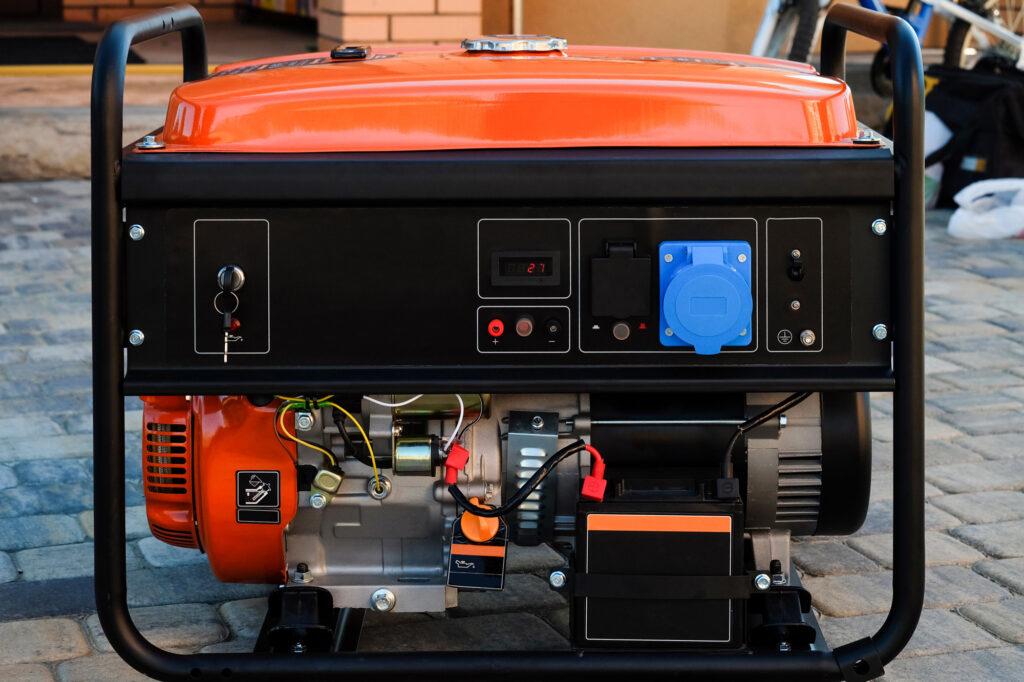 Panel portable electric generator