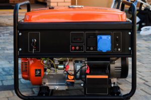 Panel portable electric generator